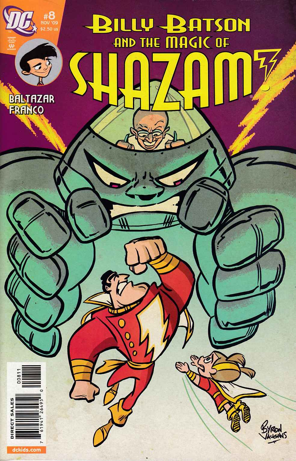 Billy Batson and the Magic of Shazam #8 Very Fine (8.0) [DC Comic]_LARGE
