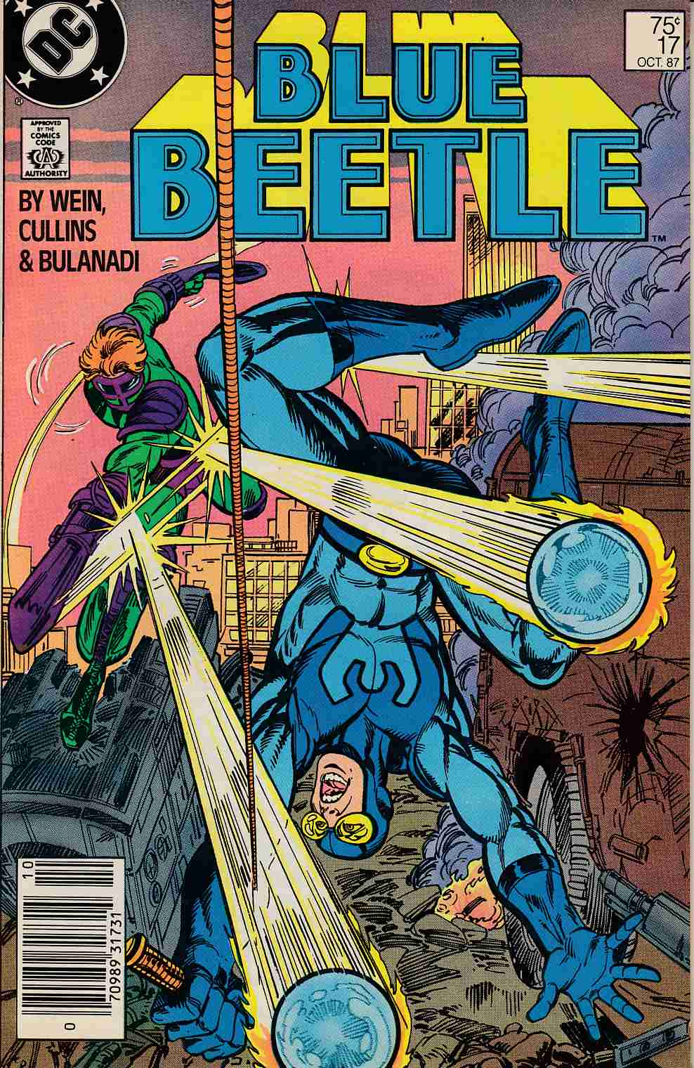 Blue Beetle #17 Newsstand Edition Very Fine (8.0) [DC Comic] LARGE