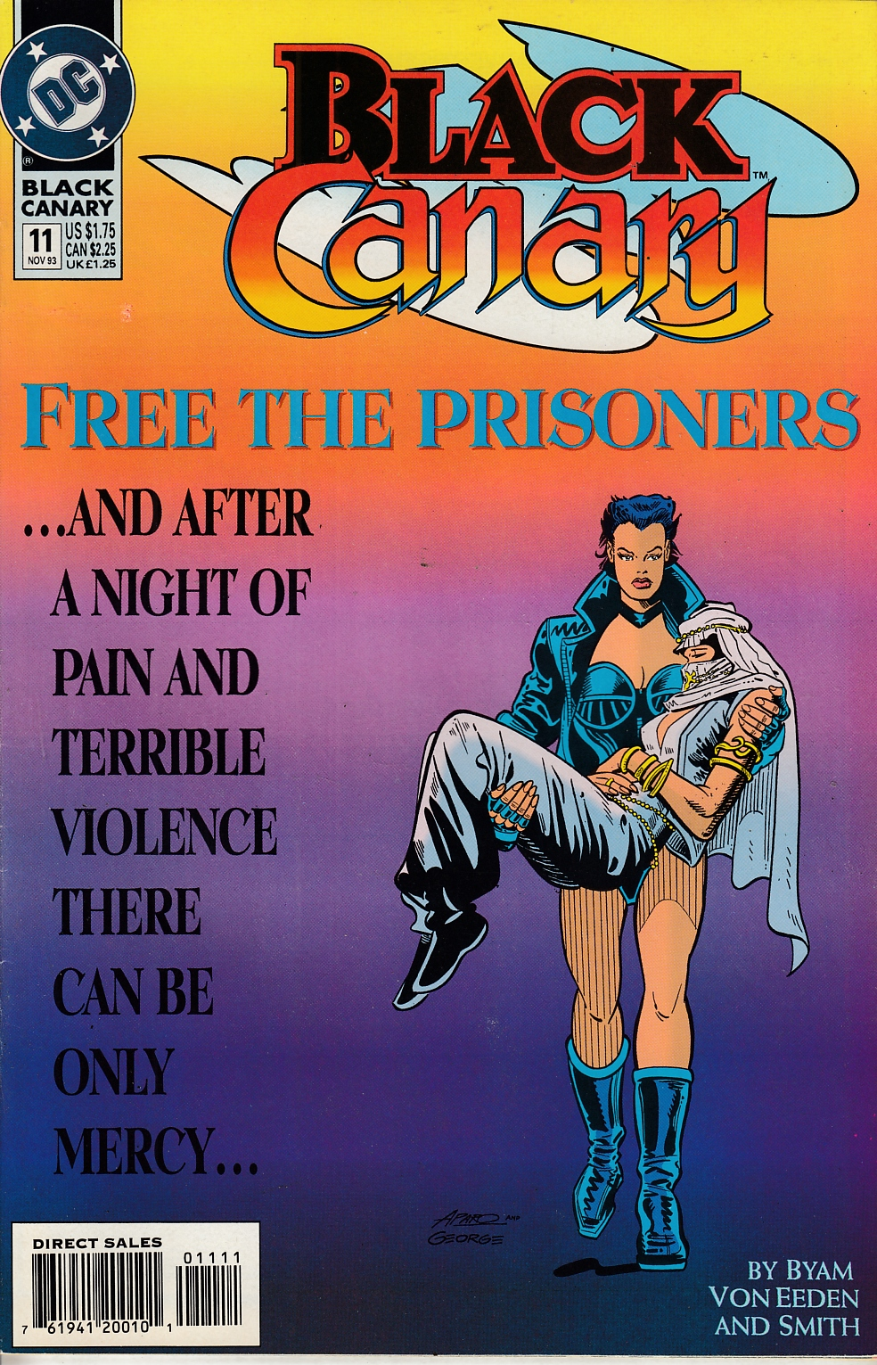 Black Canary #11 Near Mint (9.4) [DC Comic] LARGE