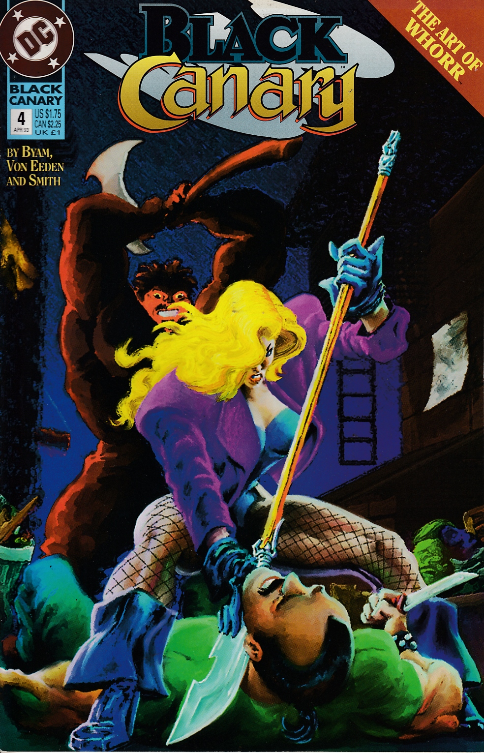 Black Canary #4 Near Mint (9.4) [DC Comic] THUMBNAIL