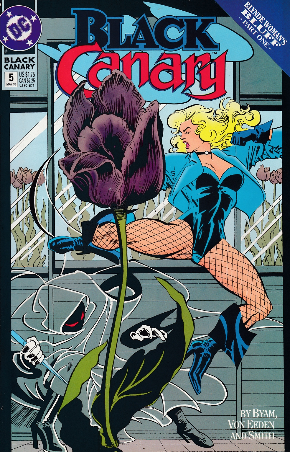 Black Canary #5 Near Mint (9.4) [DC Comic] LARGE