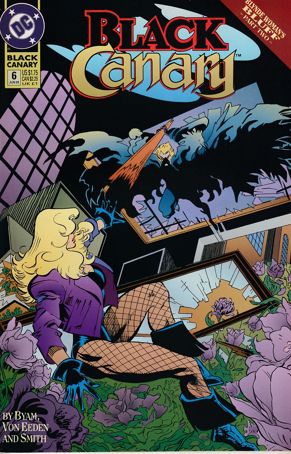 Black Canary #6 Near Mint (9.4) [DC Comic] LARGE