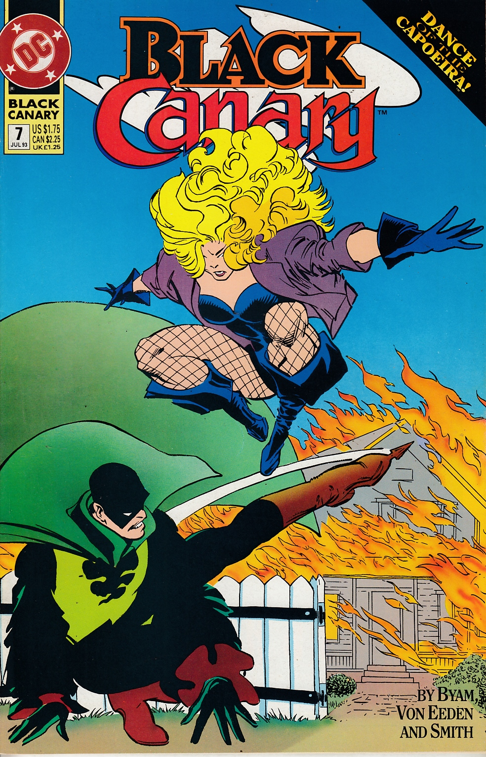Black Canary #7 Very Fine (8.0) [DC Comic] THUMBNAIL