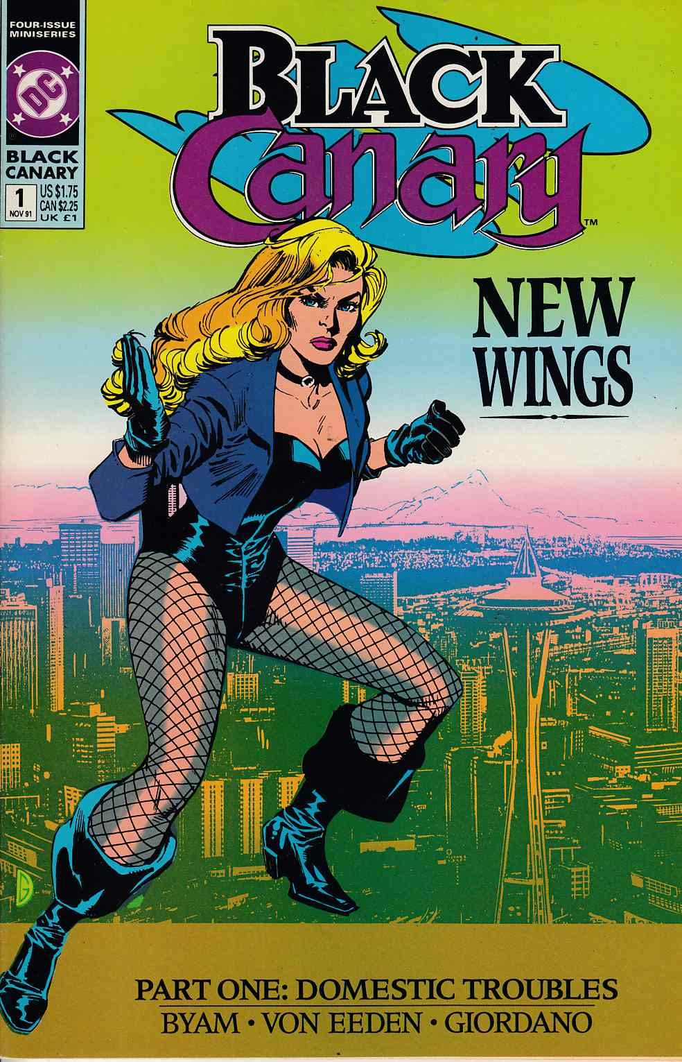 Black Canary #1 Near Mint (9.4) [DC Comic] LARGE