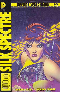 Before Watchmen Silk Spectre #2 Combo Pack [Comic] LARGE