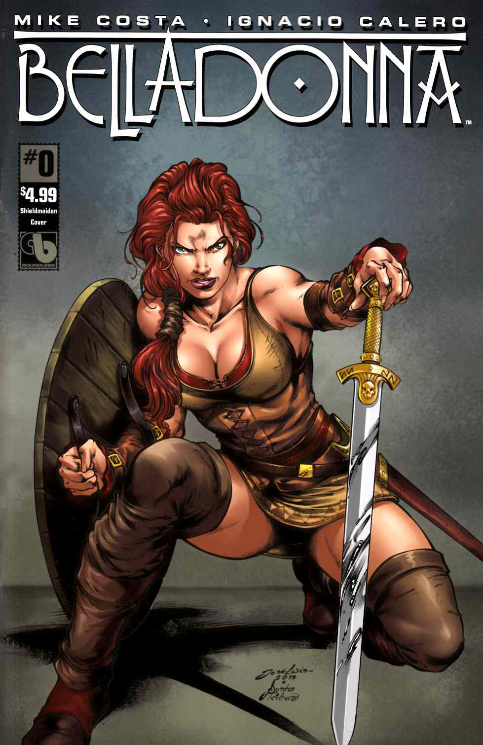 Belladonna #0 Shield Maiden Cover [Boundless Comic] THUMBNAIL