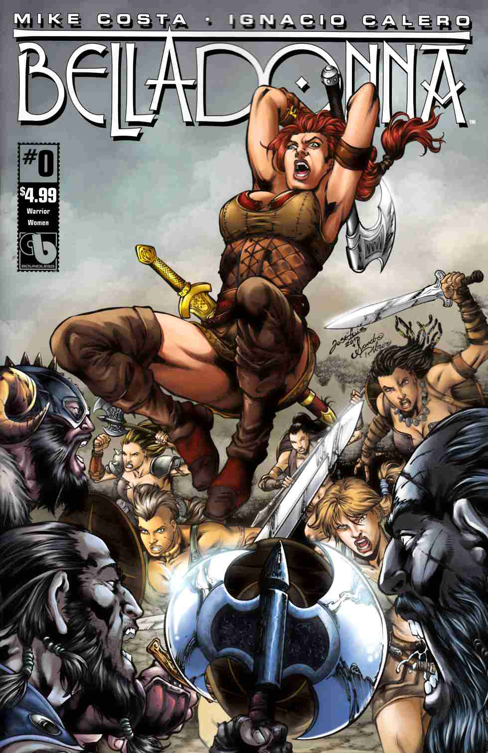 Belladonna #0 Warrior Women Cover [Boundless Comic] THUMBNAIL