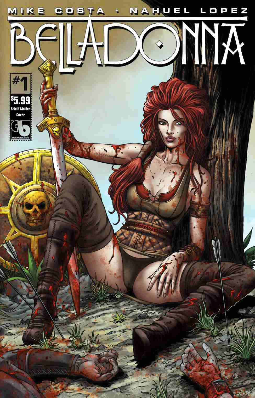 Belladonna #1 Shield Maiden Cover [Boundless Comic] THUMBNAIL