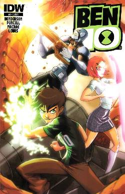 Ben 10 #1 Cover RI- Nunez [IDW Comic] LARGE