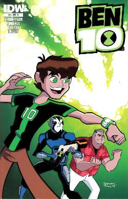 Ben 10 #2 Cover RI [IDW Comic] LARGE