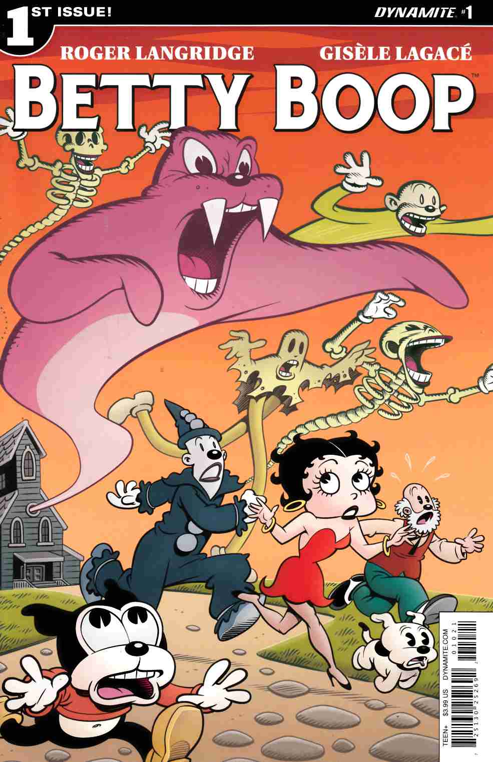 Betty Boop #1 Cover B [Dynamite Comic] LARGE