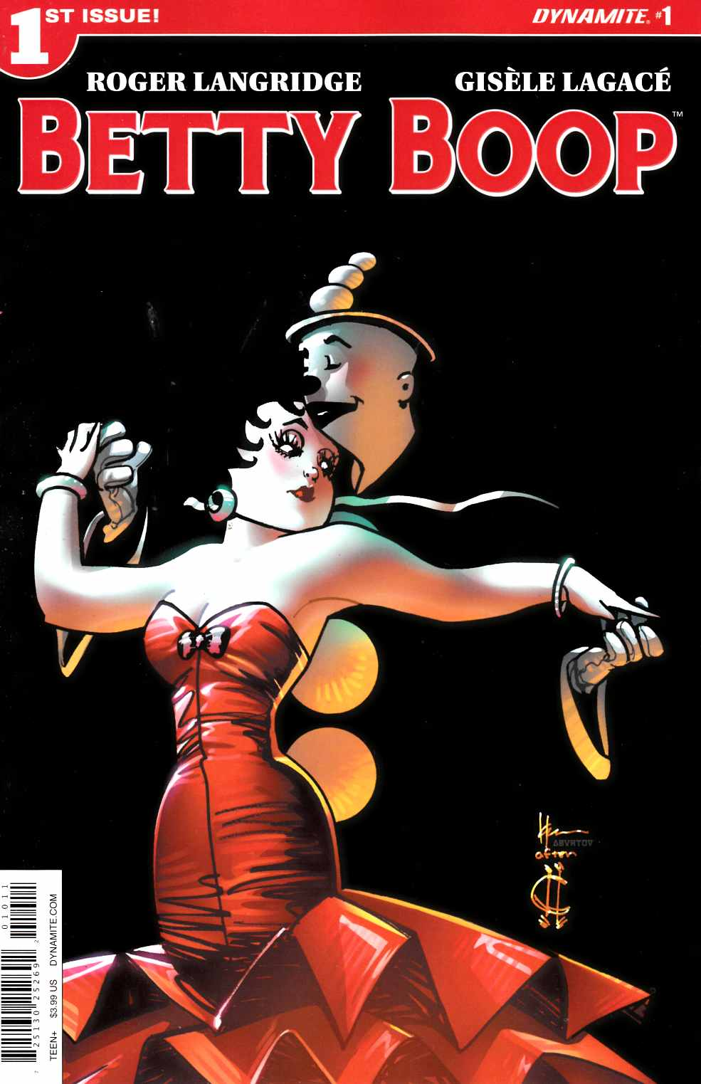Betty Boop #1 Cover A [Dynamite Comic]