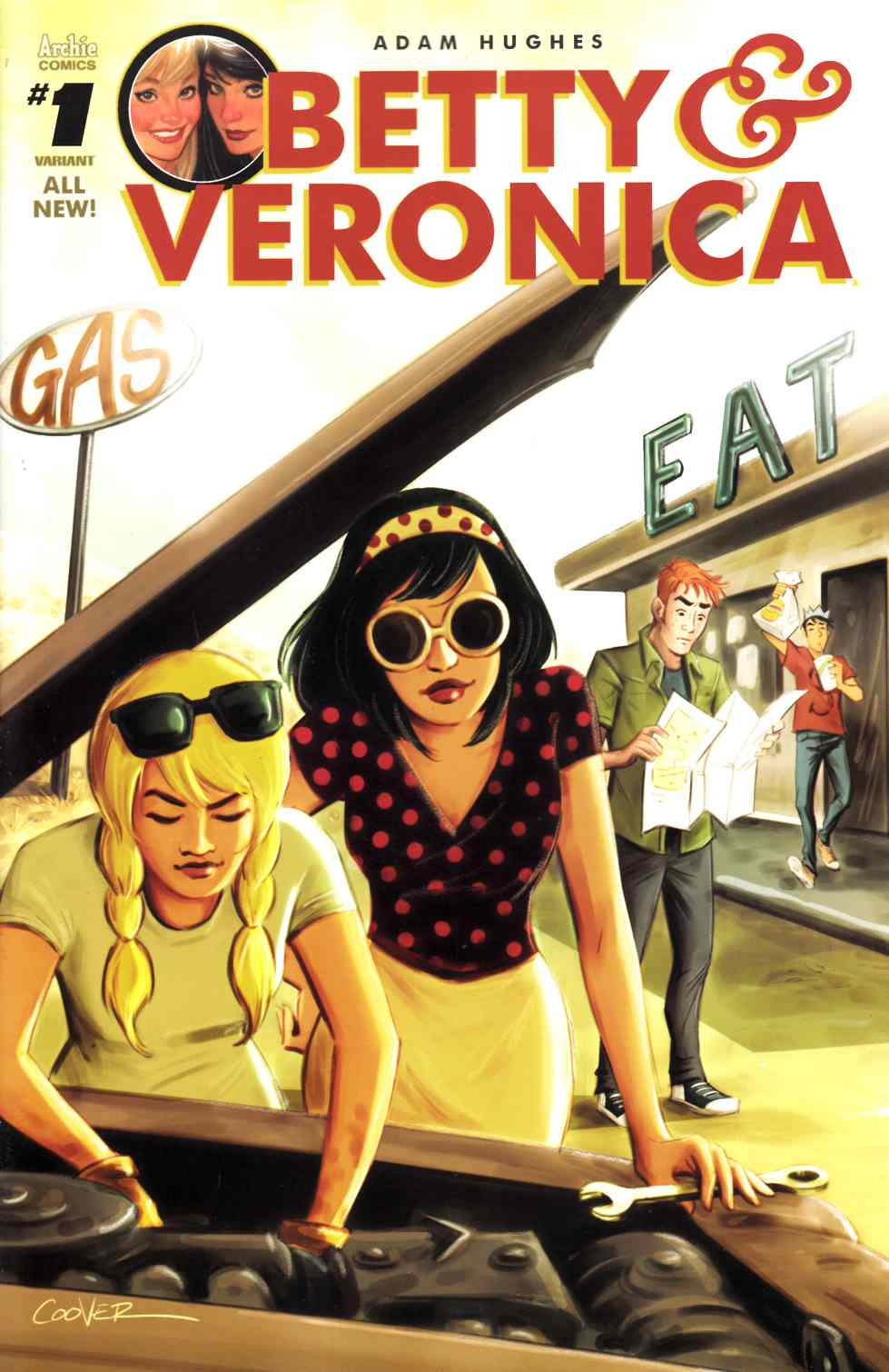 Betty & Veronica #1 Cover F [Archie Comic] THUMBNAIL