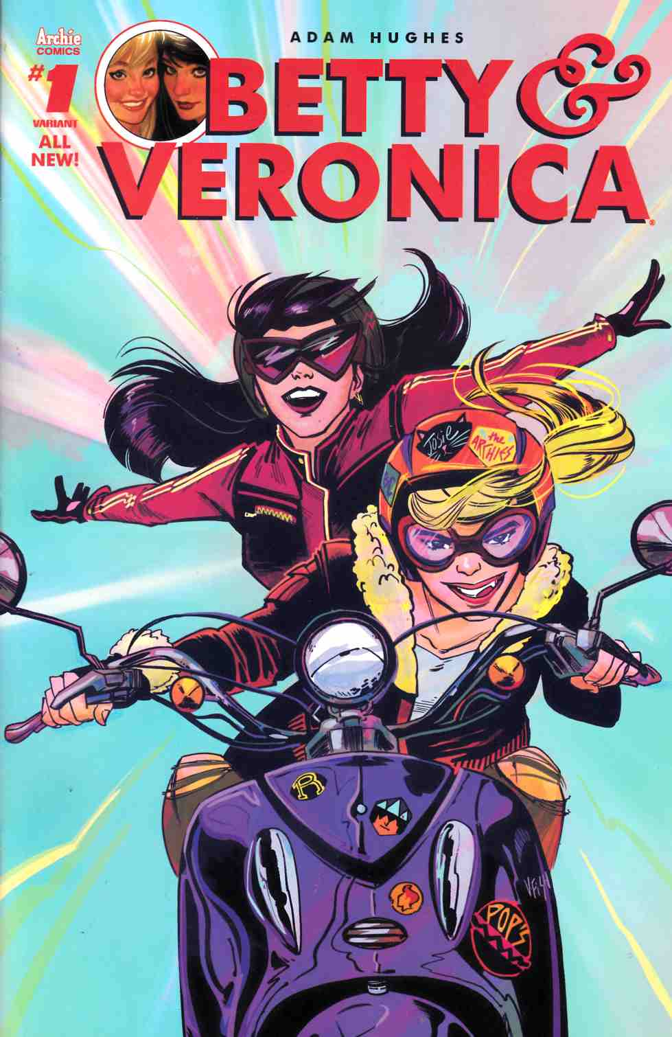 Betty & Veronica #1 Cover H [Archie Comic] THUMBNAIL