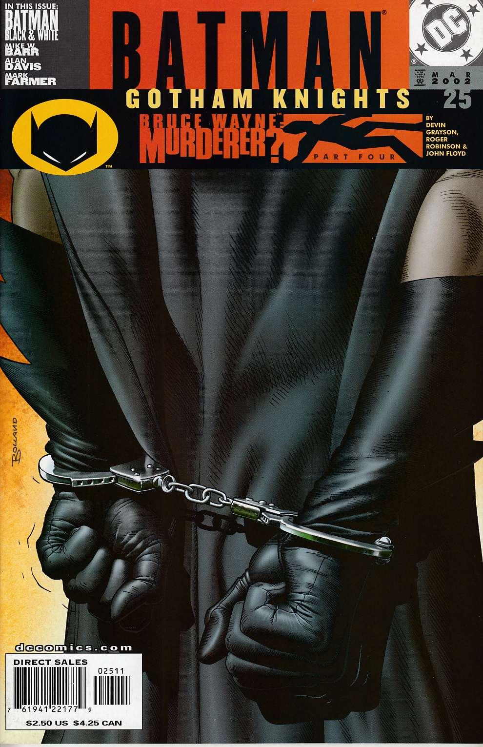 Batman Gotham Knights 2000 series # 25 near mint comic book