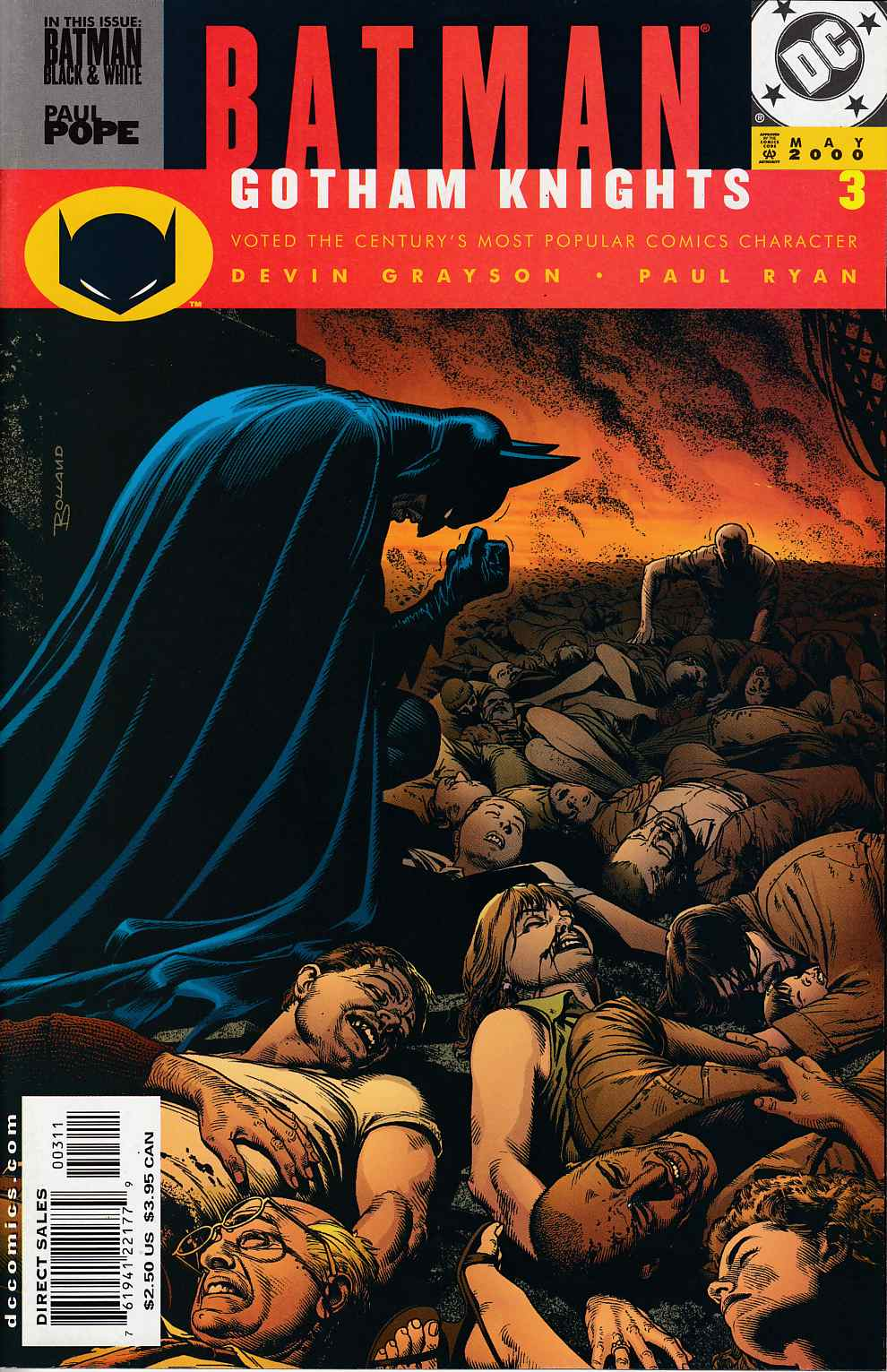 Batman Gotham Knights #3 Near Mint (9.4) [DC Comic]_THUMBNAIL