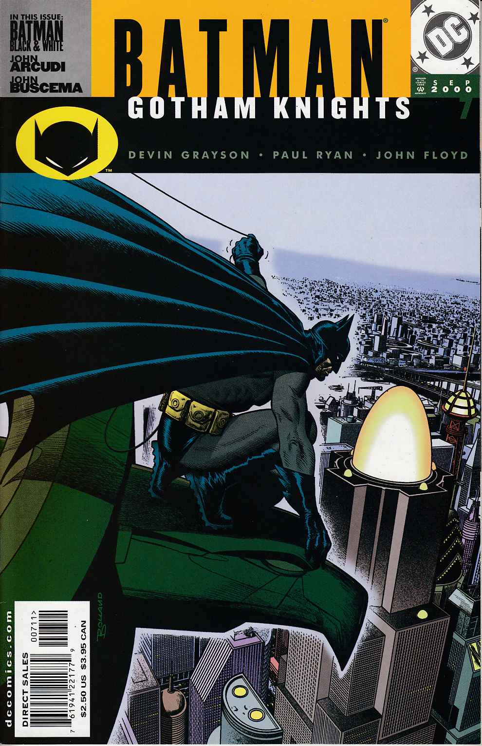 Batman Gotham Knights #7 Near Mint (9.4) [DC Comic]_THUMBNAIL