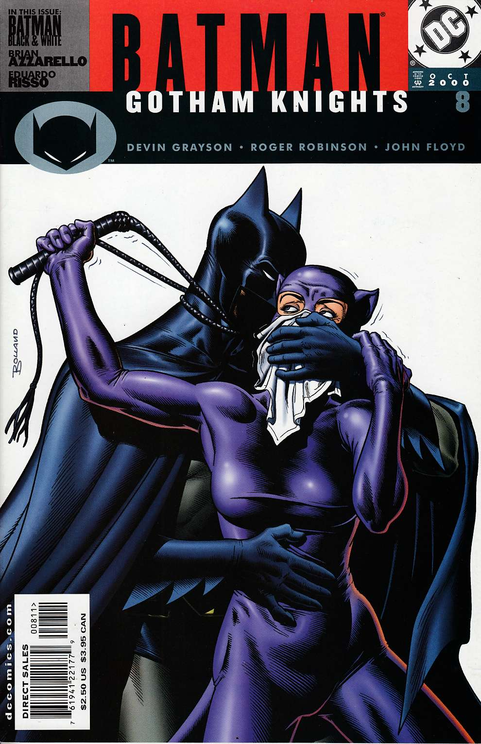 Batman Gotham Knights #8 Near Mint (9.4) [DC Comic]_THUMBNAIL