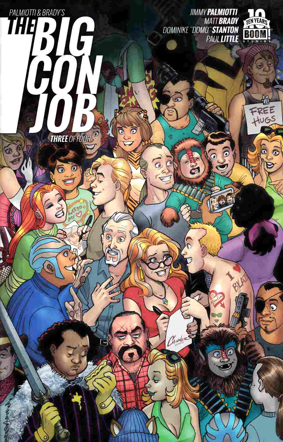 Palmiotti Brady Big Con Job #3 [Boom Comic]