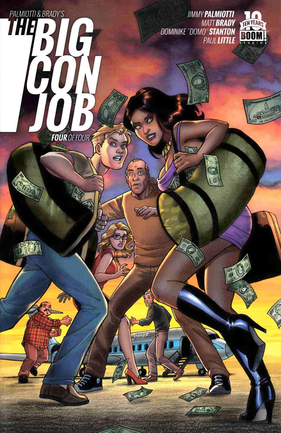 Palmiotti Brady Big Con Job #4 [Boom Comic]