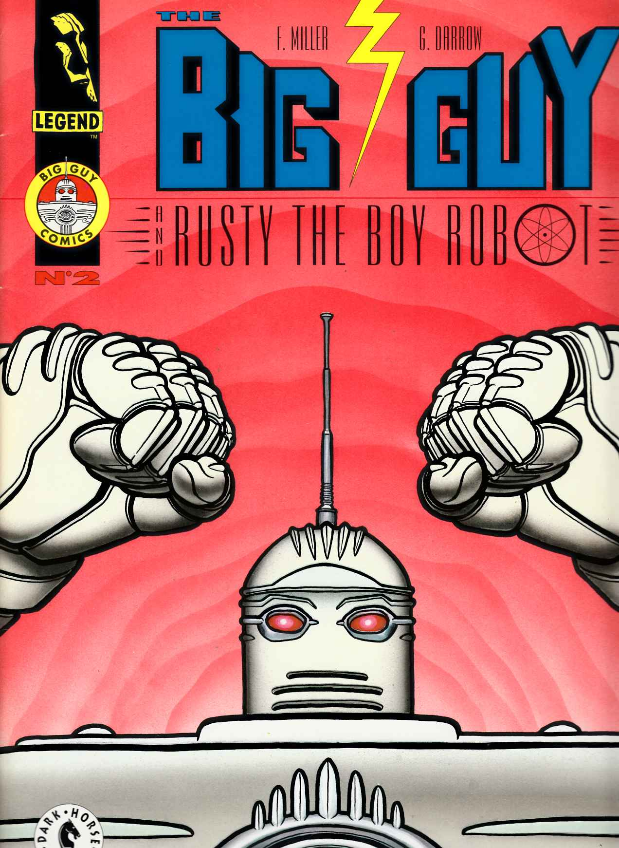 Big Guy & Rusty The Boy Robot #2 [Comic]