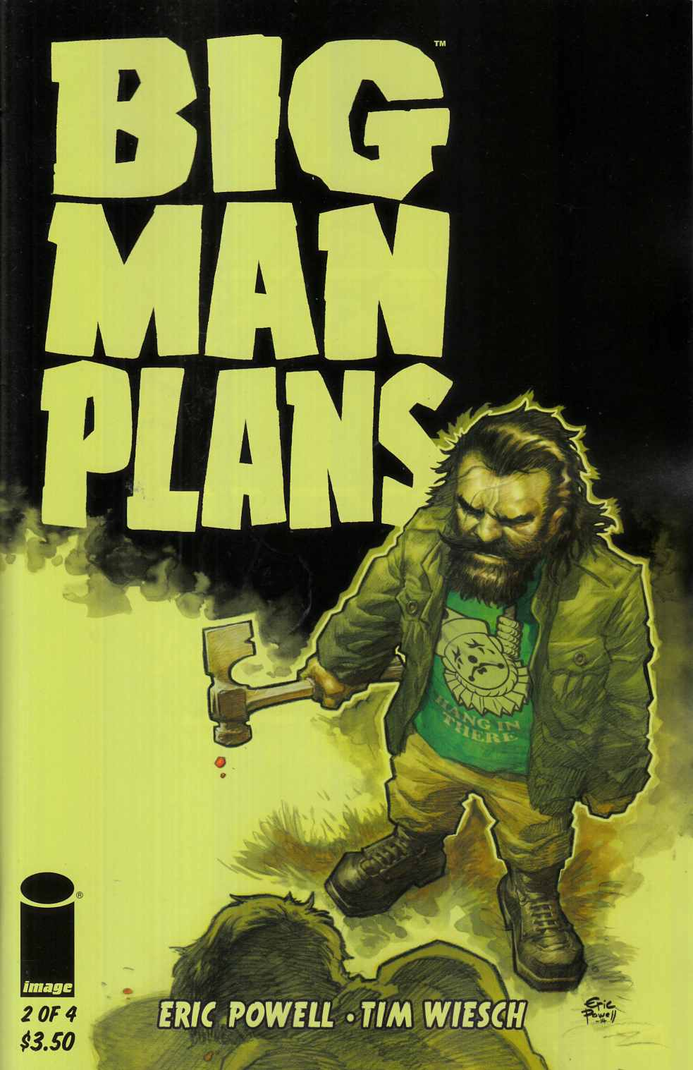 Big Man Plans #2 Cover A- Powell [Image Comic] LARGE