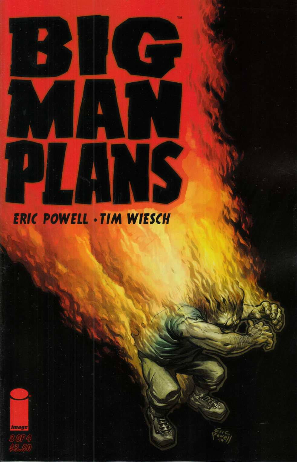 Big Man Plans #3 Cover A- Powell [Image Comic] LARGE