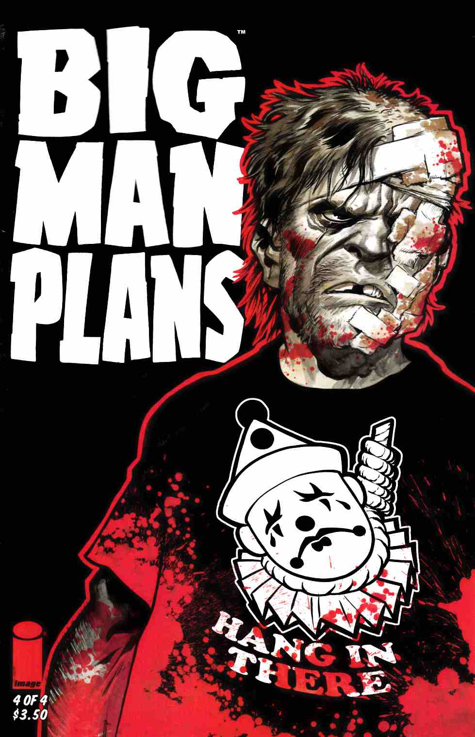 Big Man Plans #4 Cover A- Powell [Image Comic] THUMBNAIL