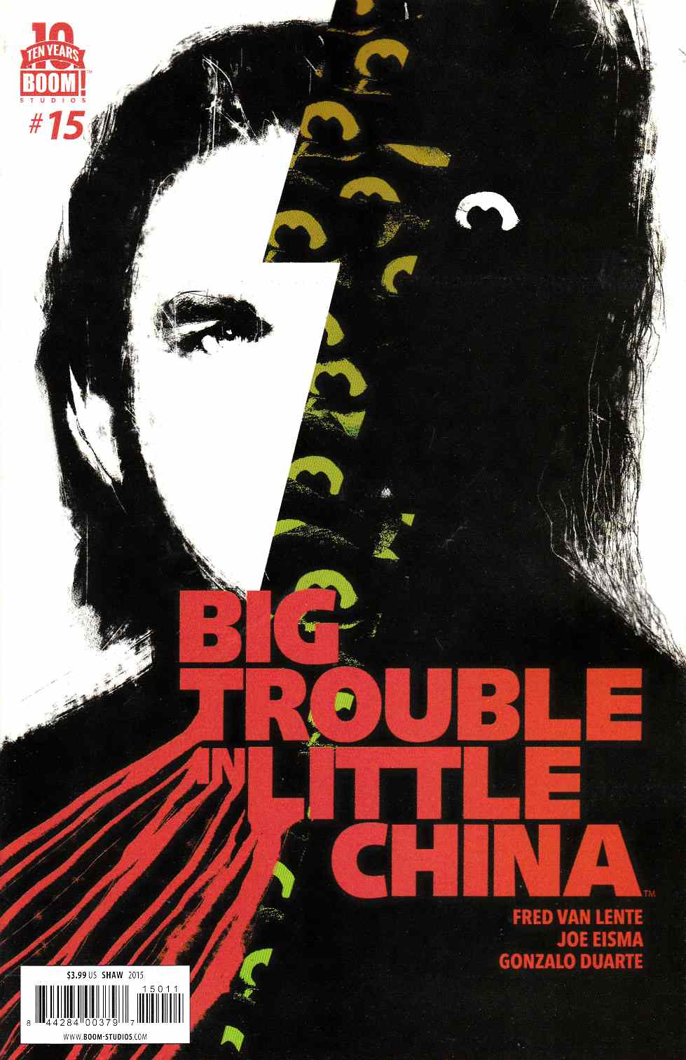 Big Trouble in Little China #15 [Boom Comic]