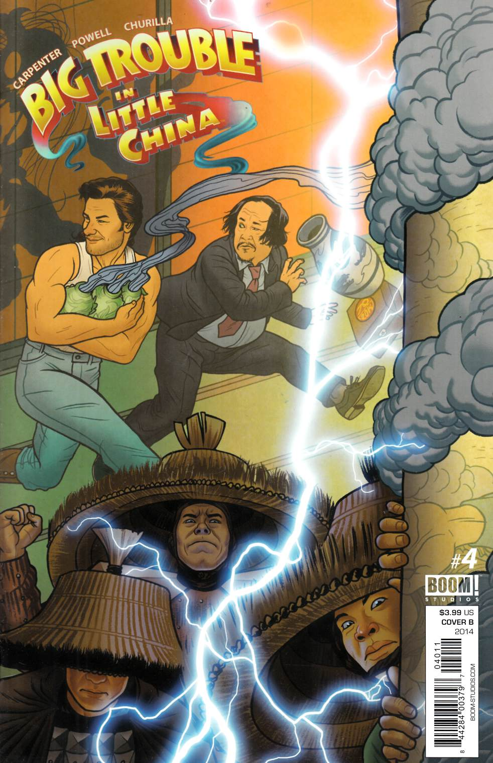 Big Trouble In Little China #4 Cover B [Comic] THUMBNAIL