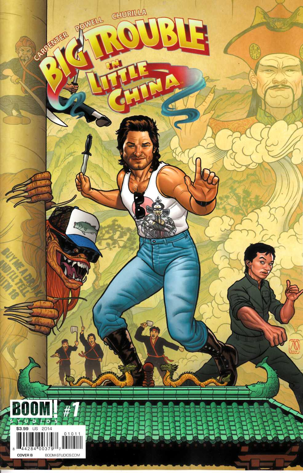Big Trouble in Little China #1 Cover B- Quinones [Comic]