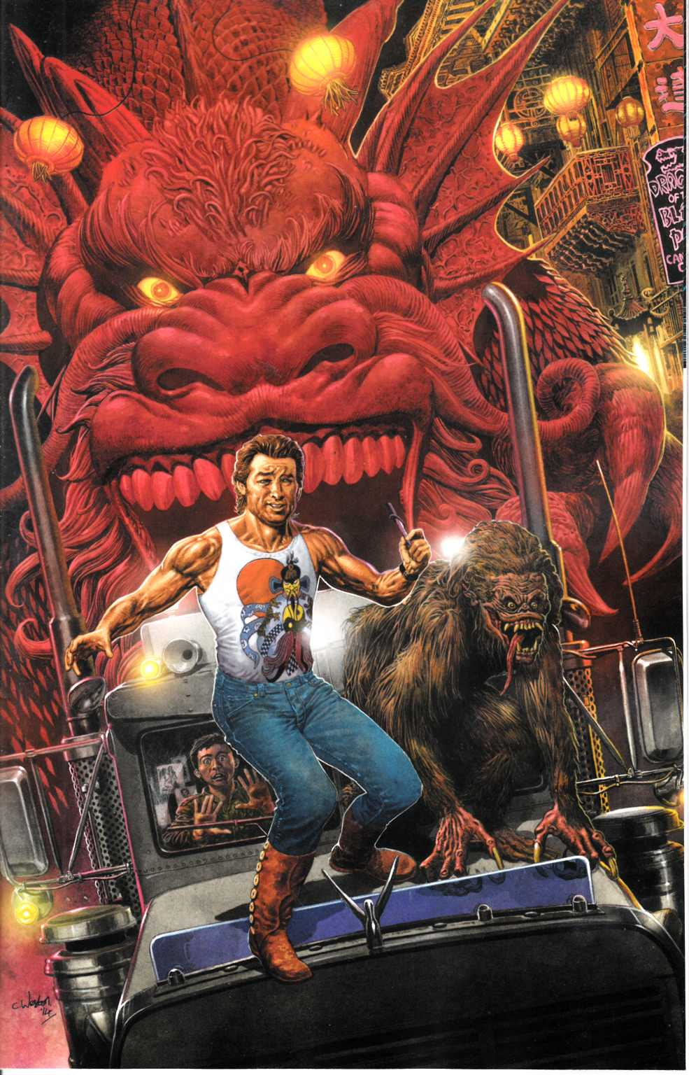 Big Trouble in Little China #1 Cover C- Weston Incentive [Comic]