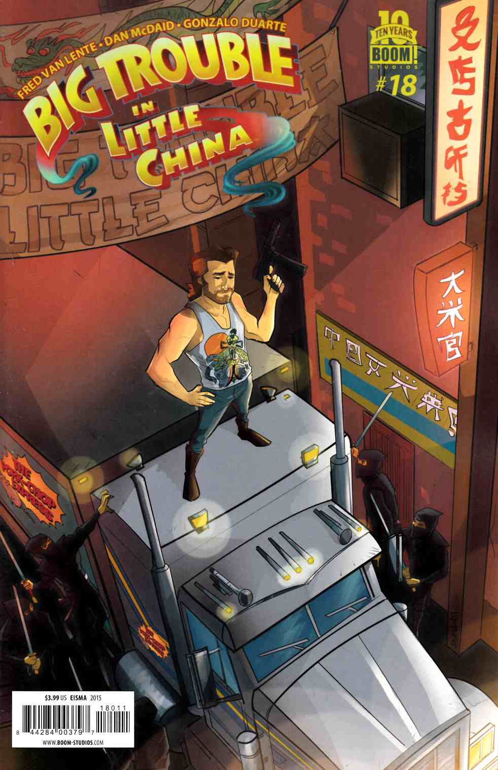 Big Trouble in Little China #18 [Boom Comic]
