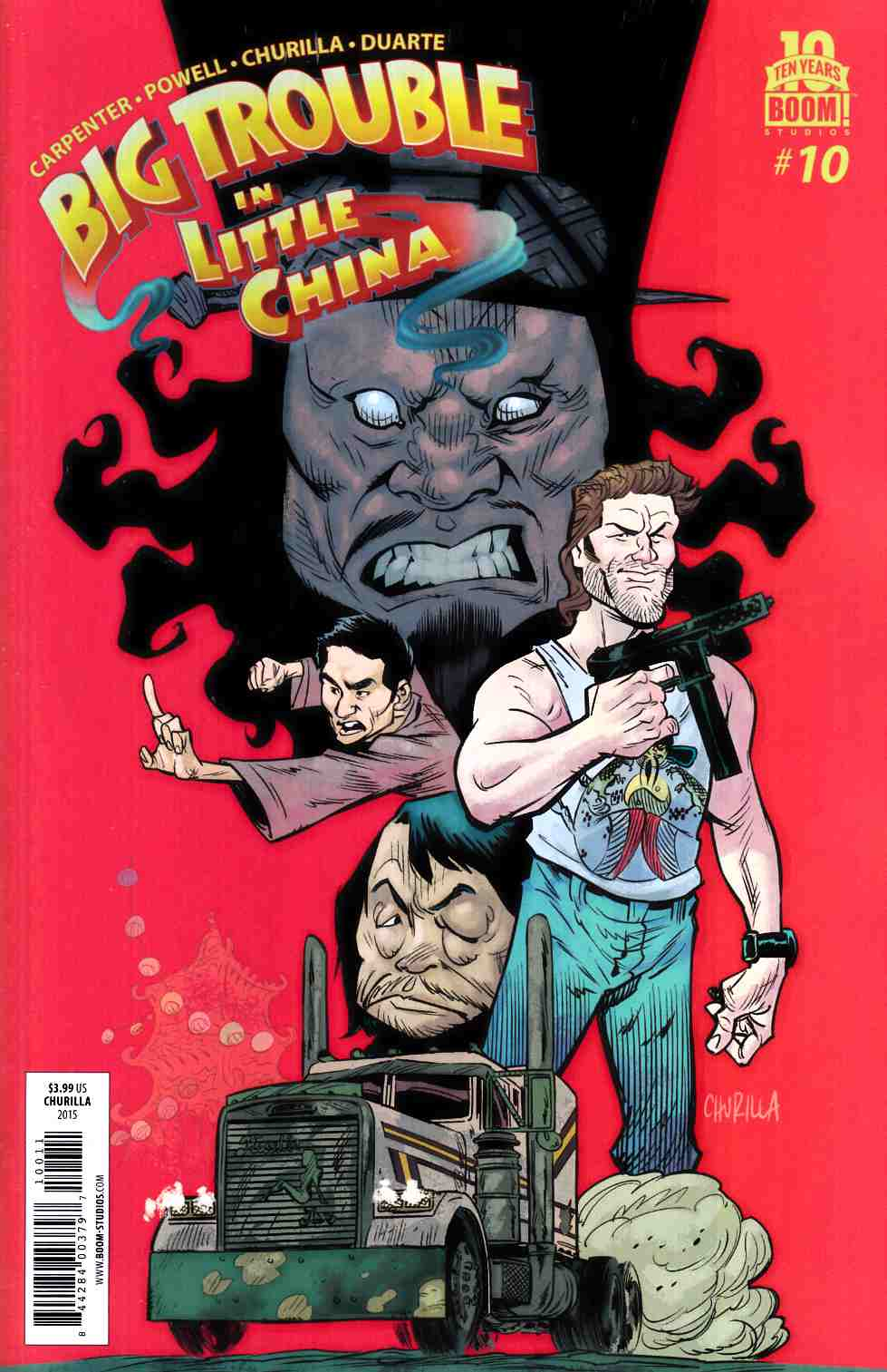 Big Trouble In Little China #10 [Boom Comic]