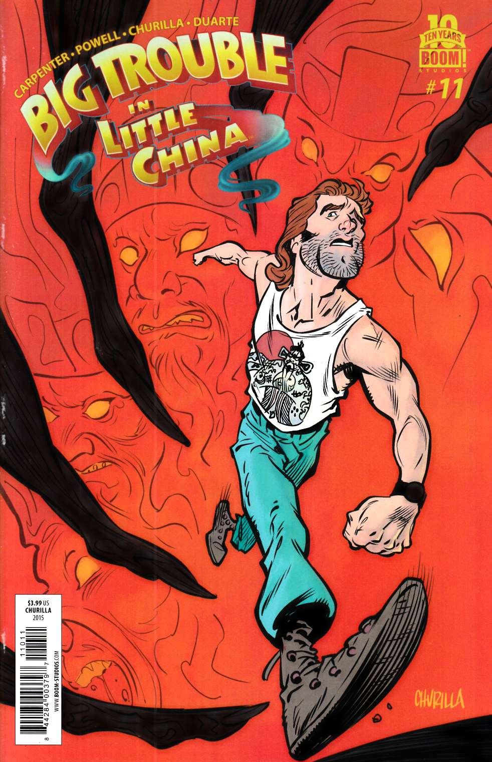Big Trouble in Little China #11 [Boom Comic]