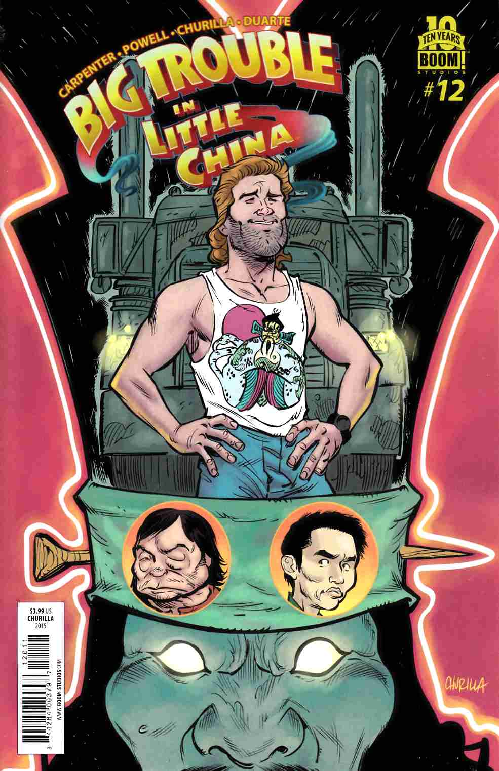 Big Trouble In Little China #12 [Boom Comic]