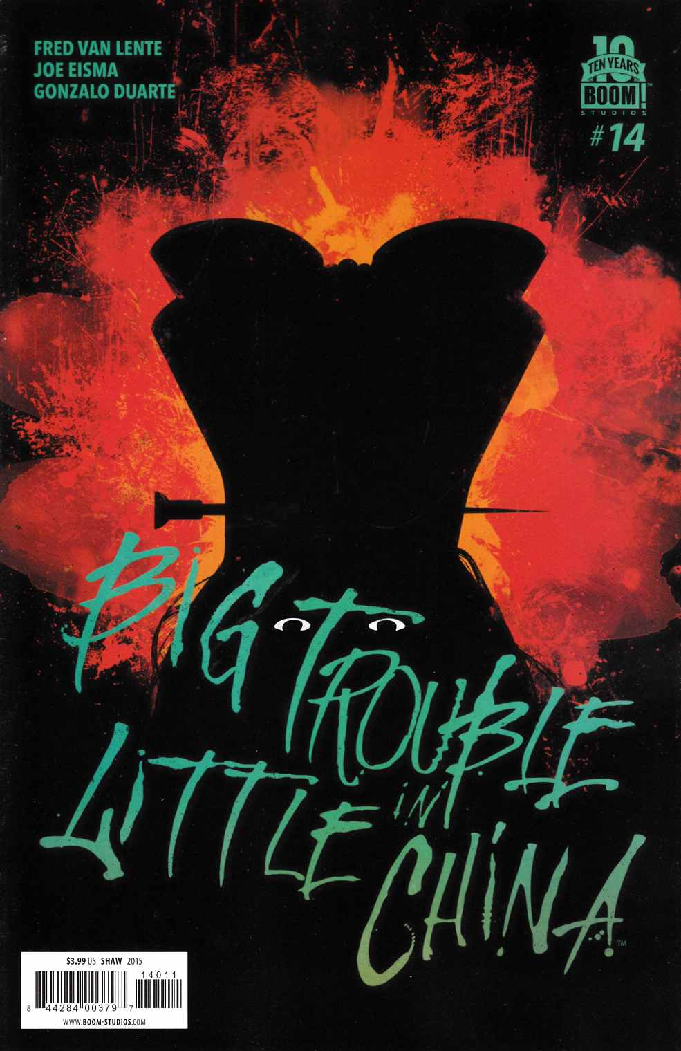 Big Trouble in Little China #14 [Boom Comic]