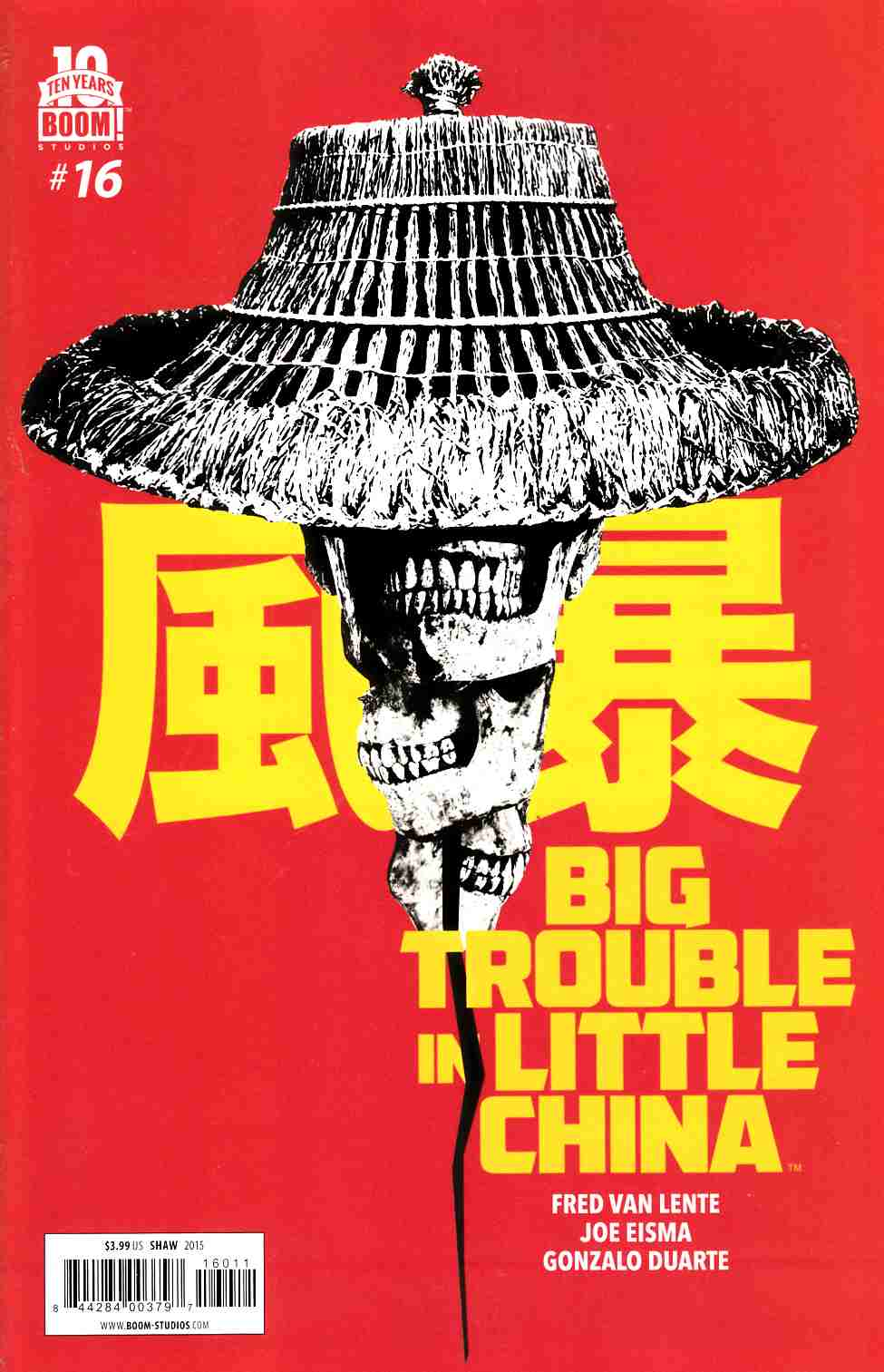 Big Trouble in Little China #16 [Boom Comic]