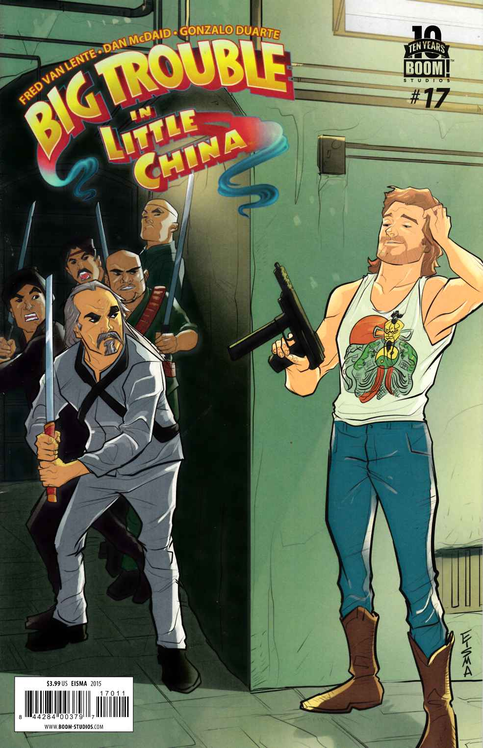 Big Trouble in Little China #17 [Boom Comic]