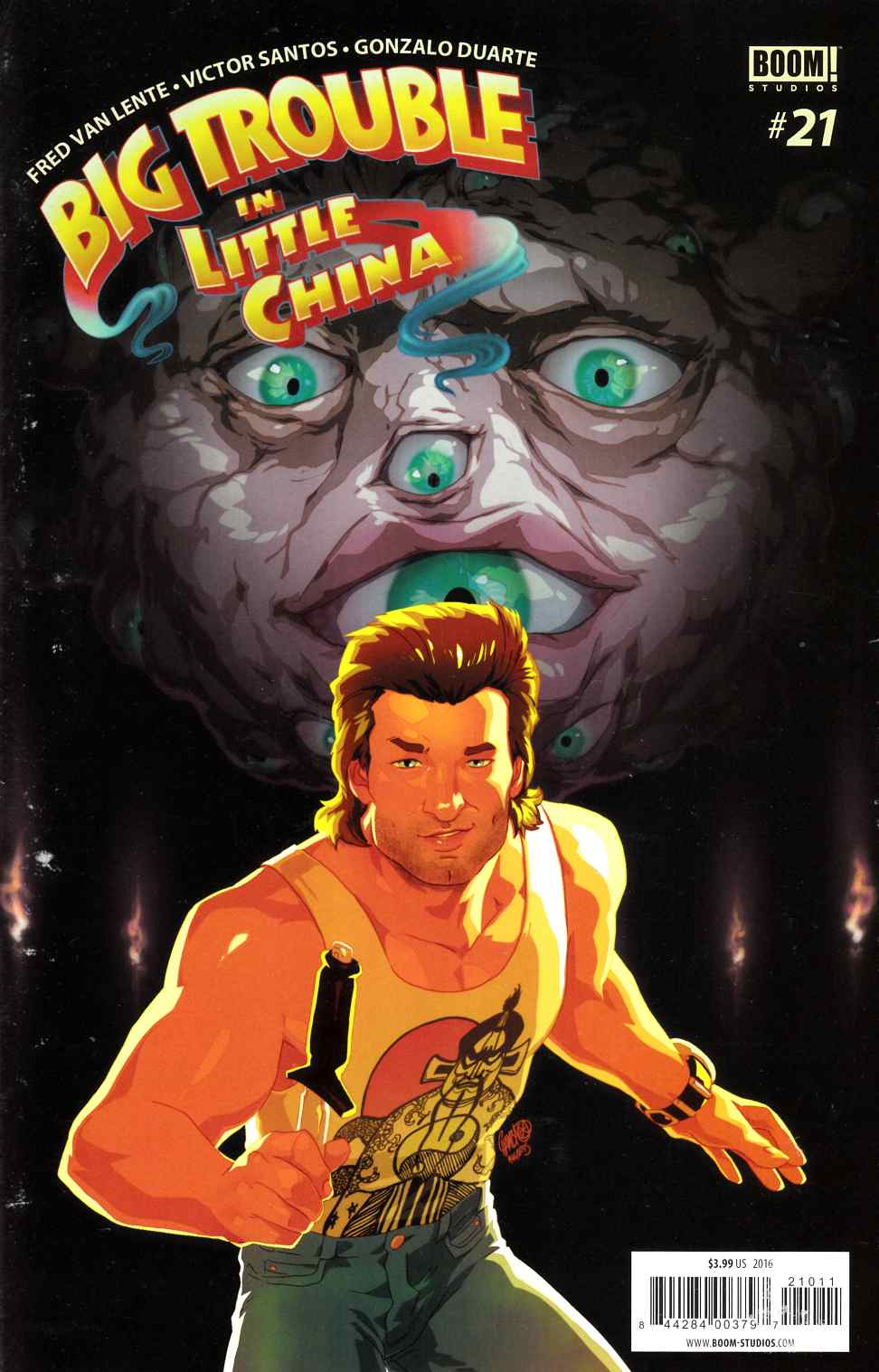 Big Trouble in Little China #21 [Boom Comic] THUMBNAIL