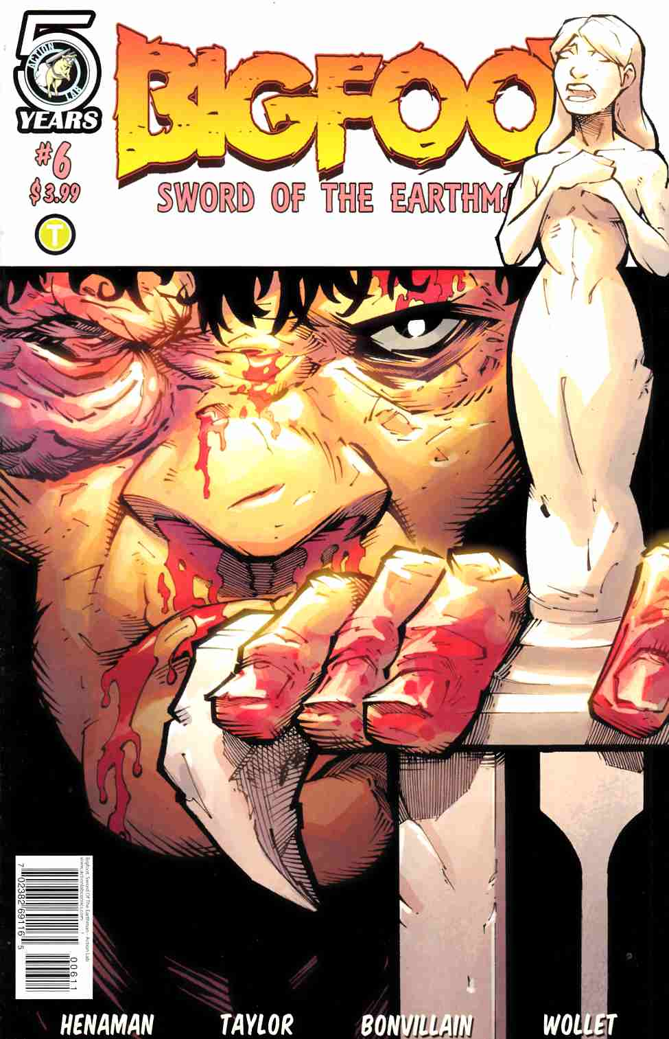 Bigfoot Sword of the Earthman #6 Cover A [Action Lab Comic] THUMBNAIL