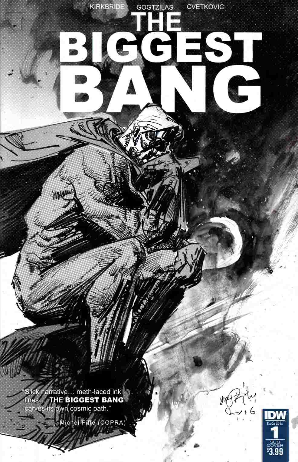 Biggest Bang #1 Subscription Cover [IDW Comic] THUMBNAIL