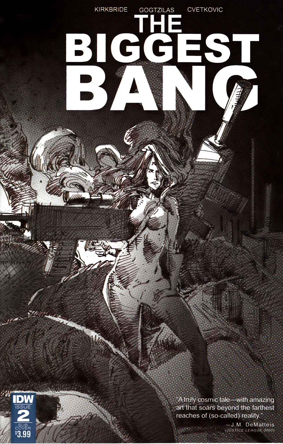 Biggest Bang #2 Subscription Cover [IDW Comic] THUMBNAIL