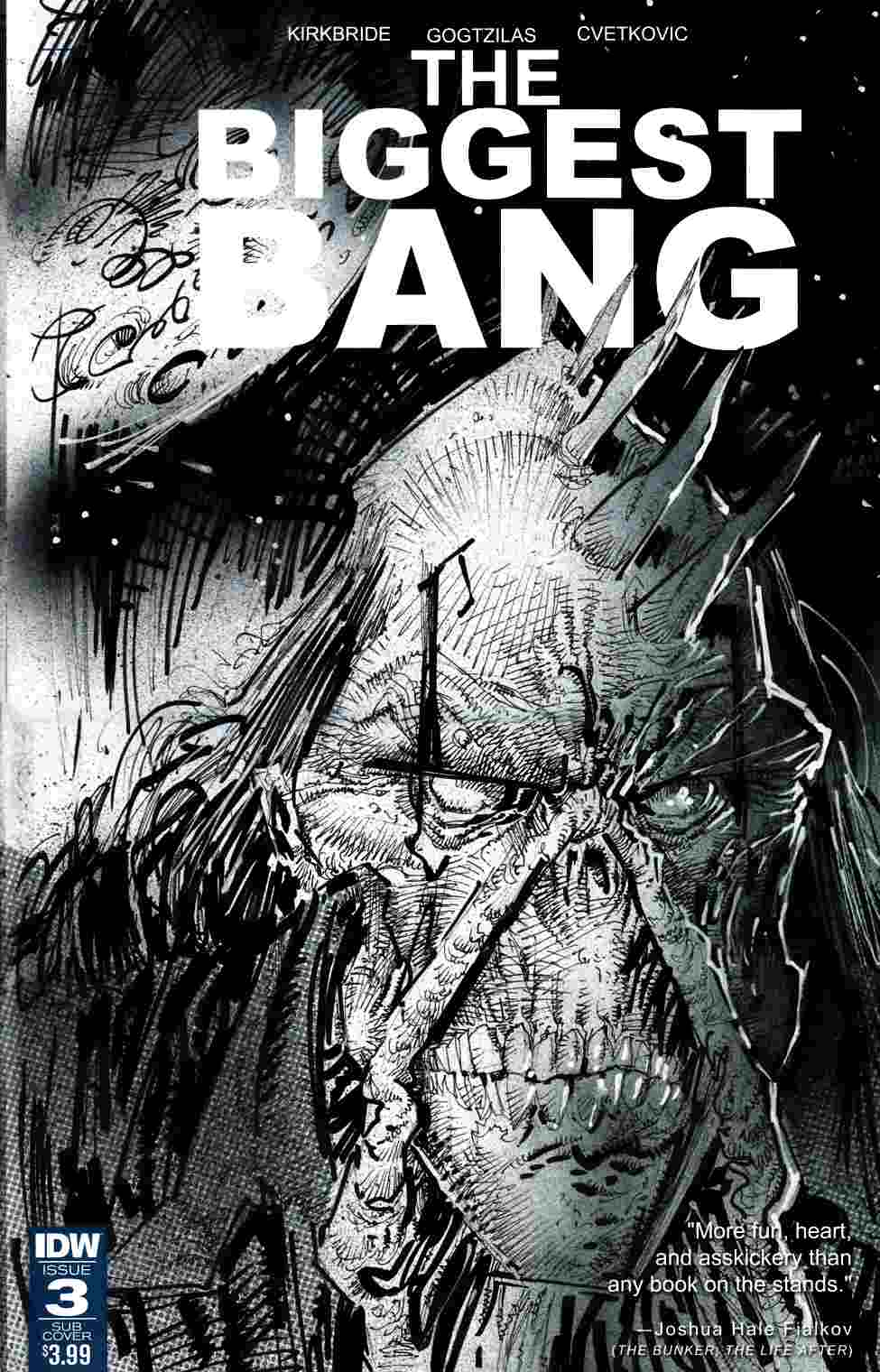 Biggest Bang #3 Subscription Cover [IDW Comic] THUMBNAIL