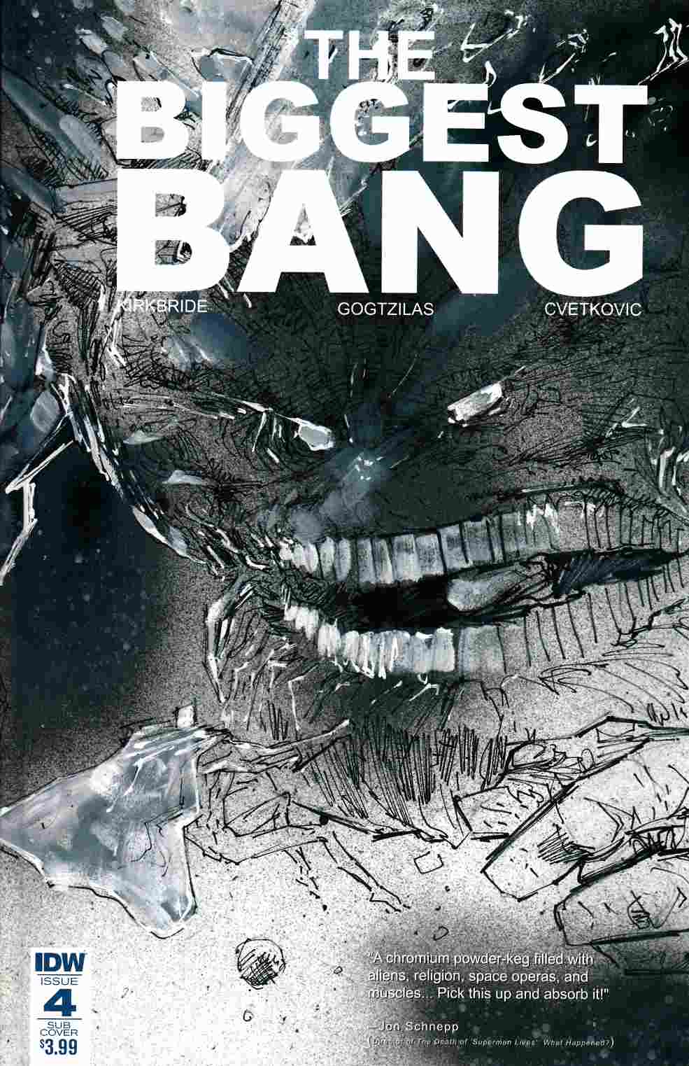 Biggest Bang #4 Subscription Cover [IDW Comic] THUMBNAIL