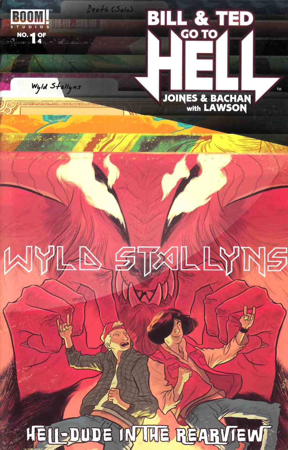 Bill & Ted Go to Hell #1 Subscription Faerber Cover [Boom Comic]