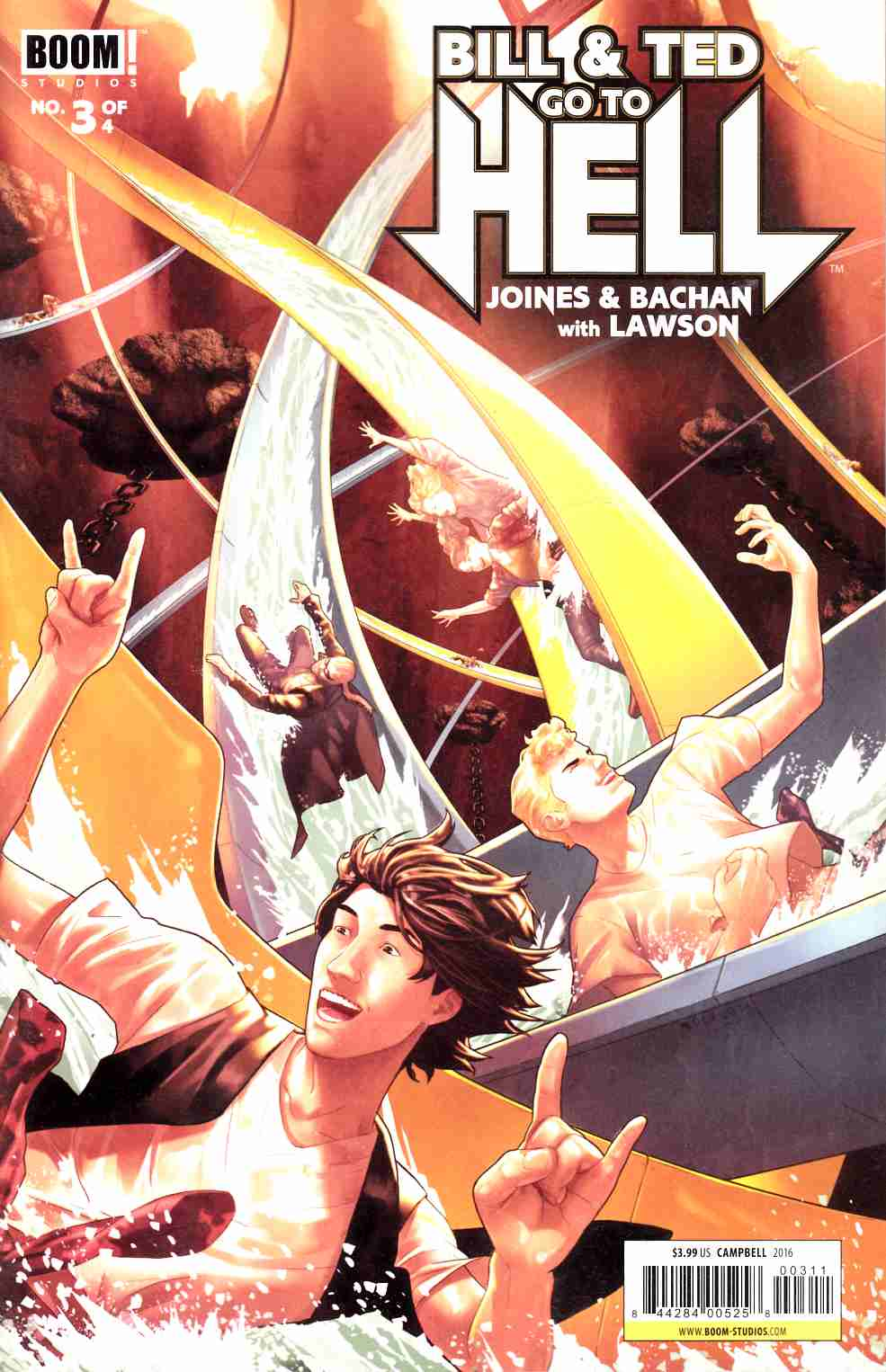 Bill & Ted Go to Hell #3 [Boom Comic]