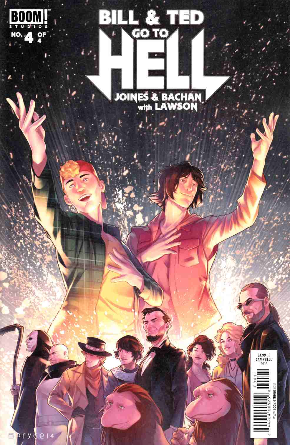 Bill & Ted Go to Hell #4 [Boom Comic]