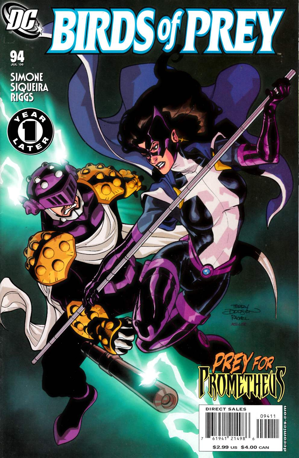Birds of Prey #94 Very Fine Plus (8.5) [DC Comic] THUMBNAIL