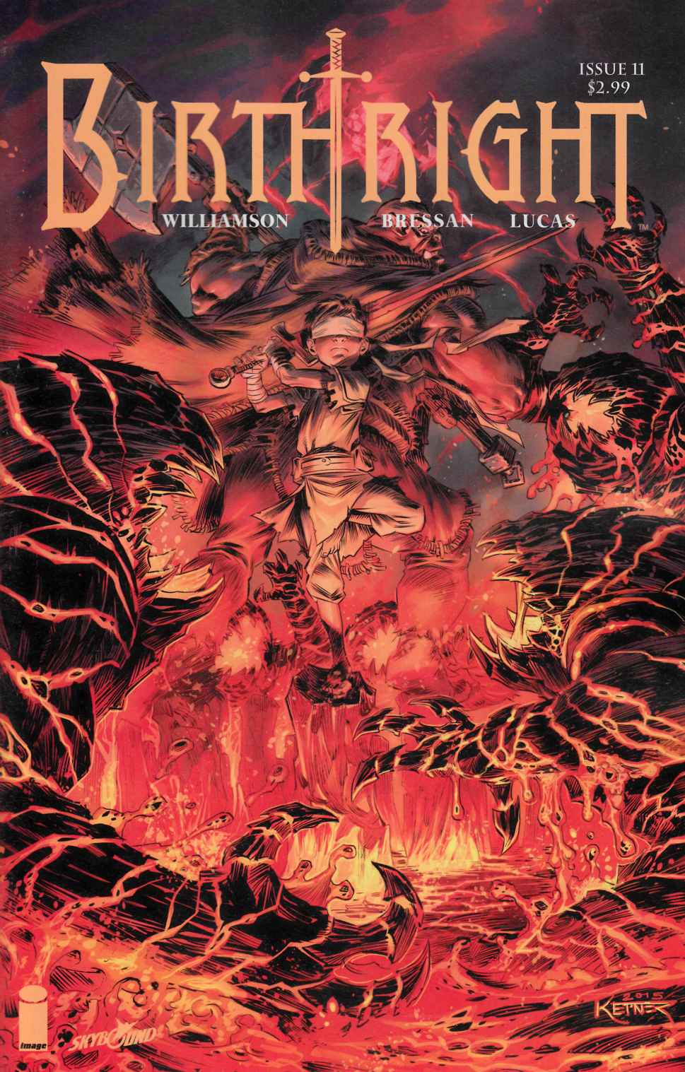 Birthright #11 Cover B- Ketner [Image Comic] LARGE